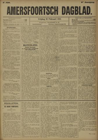 Amersfoortsch Dagblad 1911-02-10