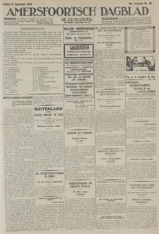 Amersfoortsch Dagblad / De Eemlander 1929-09-13