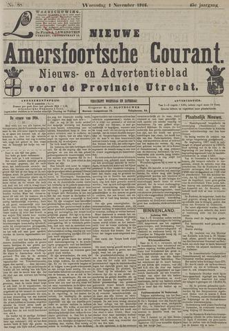 Nieuwe Amersfoortsche Courant 1916-11-01