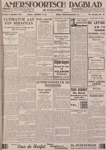 Amersfoortsch Dagblad / De Eemlander 1936-09-12
