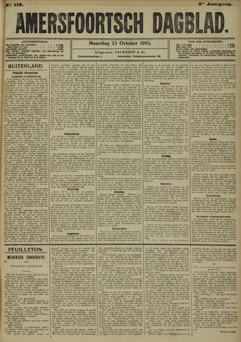 Amersfoortsch Dagblad 1905-10-23