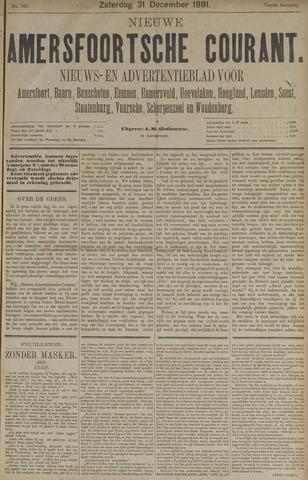 Nieuwe Amersfoortsche Courant 1881-12-31