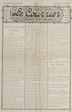 Le Courrier 1918-06-02