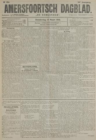 Amersfoortsch Dagblad / De Eemlander 1916-03-16