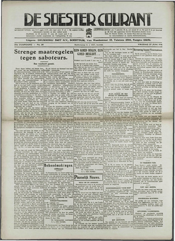 Soester Courant 1941-06-27