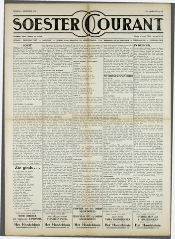 Soester Courant 1959-12-01
