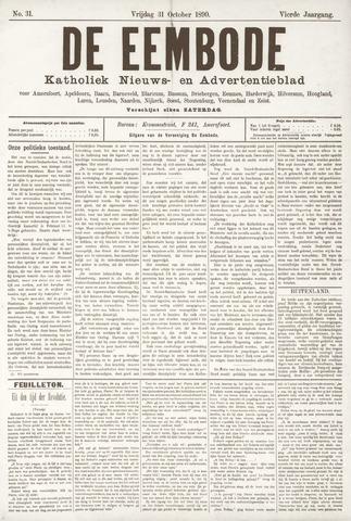 De Eembode 1890-12-01