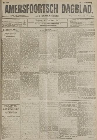 Amersfoortsch Dagblad / De Eemlander 1917-02-16