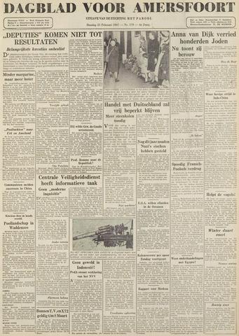 Dagblad voor Amersfoort 1947-02-25