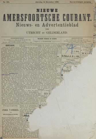 Nieuwe Amersfoortsche Courant 1892-12-31