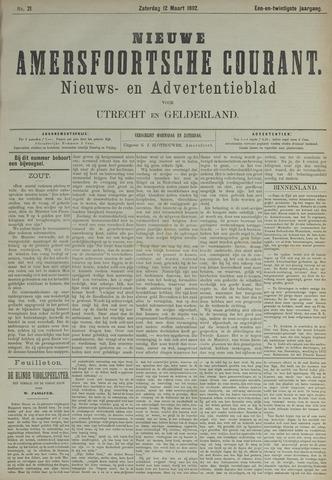 Nieuwe Amersfoortsche Courant 1892-03-12
