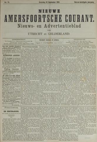 Nieuwe Amersfoortsche Courant 1892-09-10