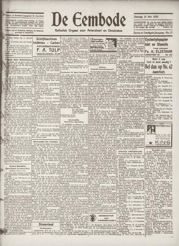 De Eembode 1933-05-30