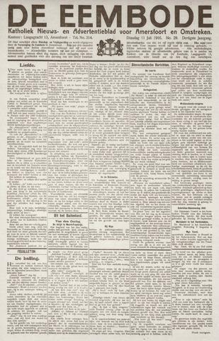 De Eembode 1916-07-11