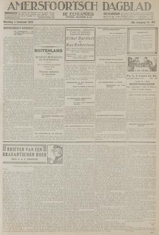 Amersfoortsch Dagblad / De Eemlander 1929-11-04