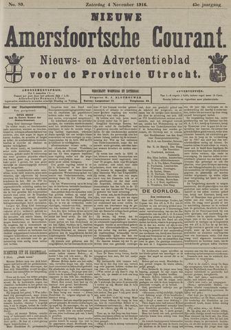 Nieuwe Amersfoortsche Courant 1916-11-04