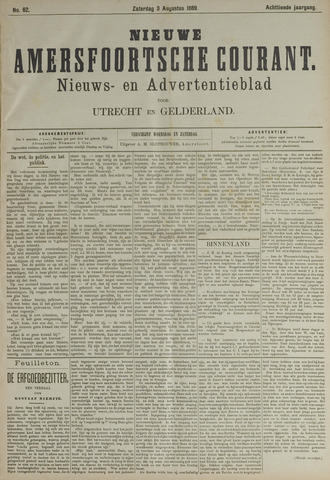 Nieuwe Amersfoortsche Courant 1889-08-03