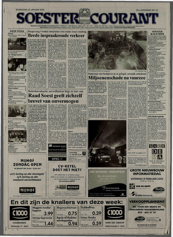 Soester Courant 2003-01-22
