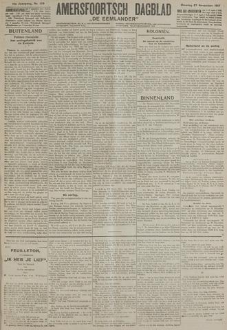Amersfoortsch Dagblad / De Eemlander 1917-11-27