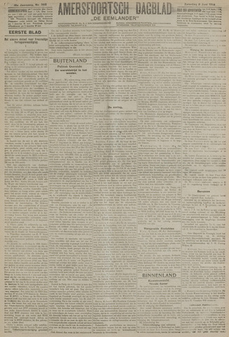 Amersfoortsch Dagblad / De Eemlander 1918-06-08