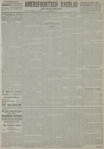 Amersfoortsch Dagblad / De Eemlander 1922-01-18