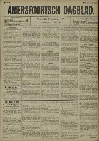 Amersfoortsch Dagblad 1909-08-04
