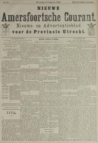 Nieuwe Amersfoortsche Courant 1896-08-12