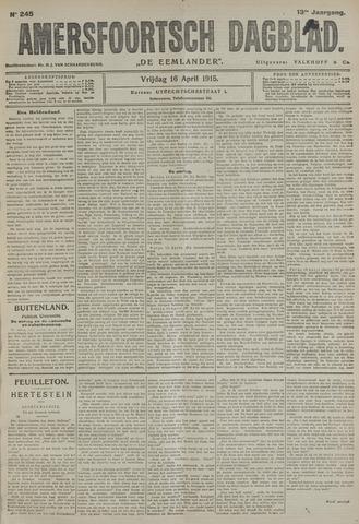 Amersfoortsch Dagblad / De Eemlander 1915-04-16