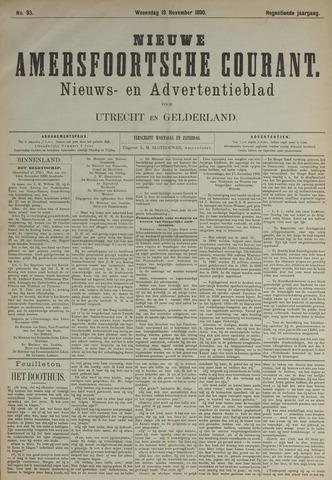 Nieuwe Amersfoortsche Courant 1890-11-19