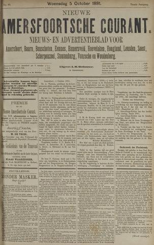 Nieuwe Amersfoortsche Courant 1881-10-05