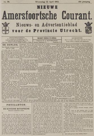 Nieuwe Amersfoortsche Courant 1915-04-14
