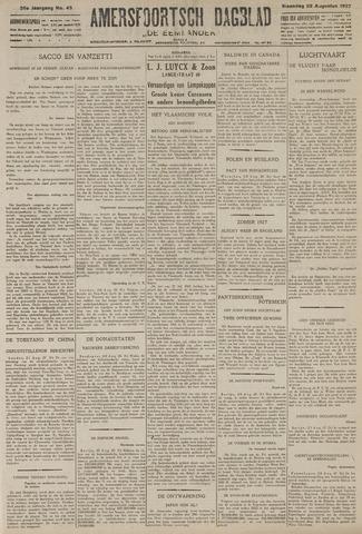 Amersfoortsch Dagblad / De Eemlander 1927-08-22