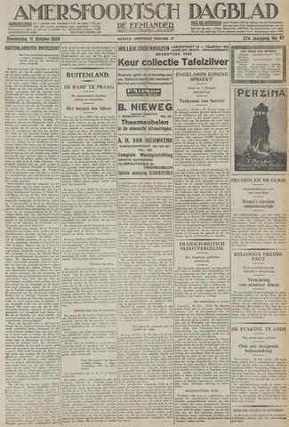 Amersfoortsch Dagblad / De Eemlander 1928-10-11