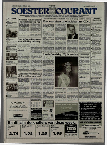 Soester Courant 2003-10-29