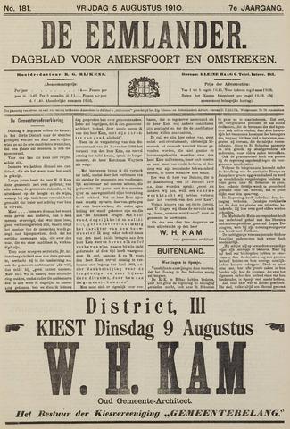 De Eemlander 1910-08-05