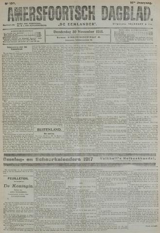Amersfoortsch Dagblad / De Eemlander 1916-11-30
