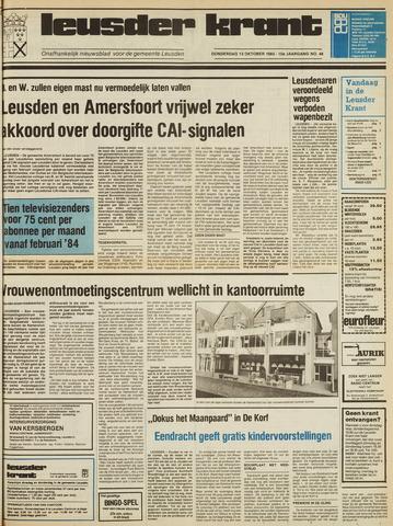 Leusder Krant 1983-10-13