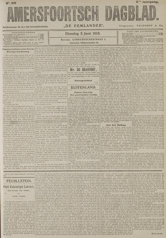 Amersfoortsch Dagblad / De Eemlander 1913-06-03
