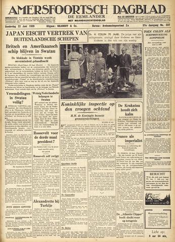 Amersfoortsch Dagblad / De Eemlander 1939-06-22