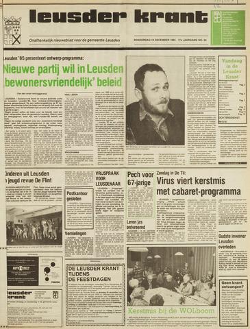 Leusder Krant 1985-12-19