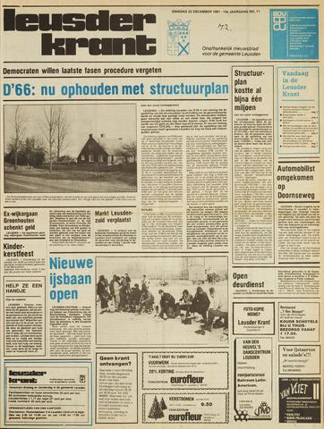 Leusder Krant 1981-12-22