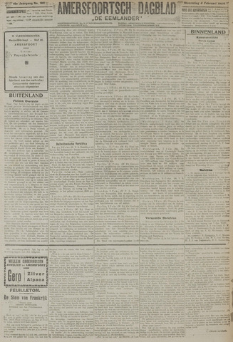 Amersfoortsch Dagblad / De Eemlander 1920-02-04