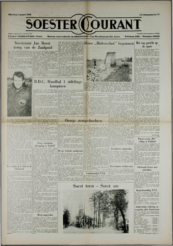 Soester Courant 1966-03-01