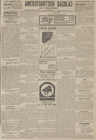 Amersfoortsch Dagblad / De Eemlander 1925-10-28