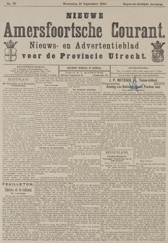 Nieuwe Amersfoortsche Courant 1910-09-21