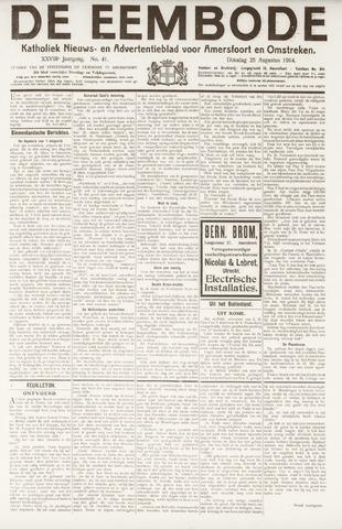 De Eembode 1914-08-25