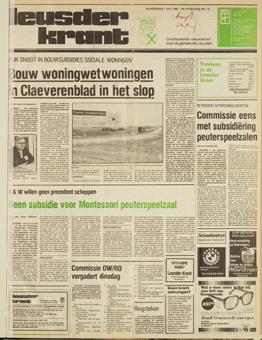 Leusder Krant 1982-07-01