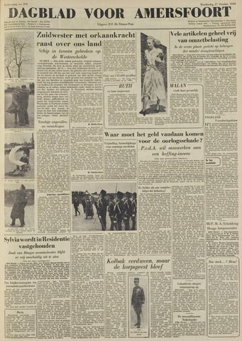Dagblad voor Amersfoort 1949-10-27