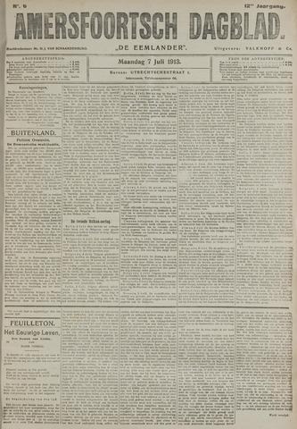 Amersfoortsch Dagblad / De Eemlander 1913-07-07