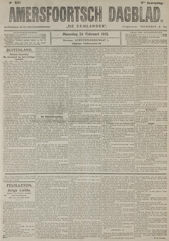 Amersfoortsch Dagblad / De Eemlander 1913-02-24